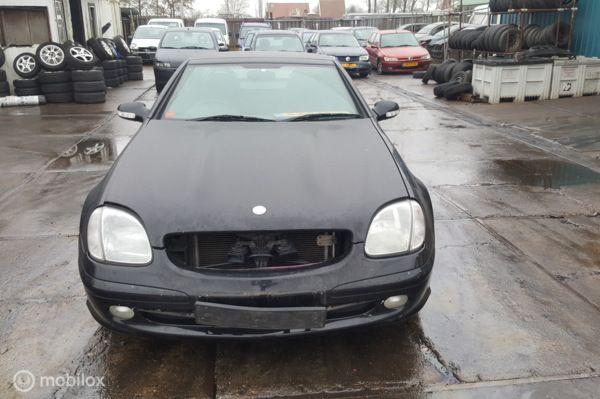 Ingekocht voor onderdelen Mercedes SLK R170 230 K 2000 2004