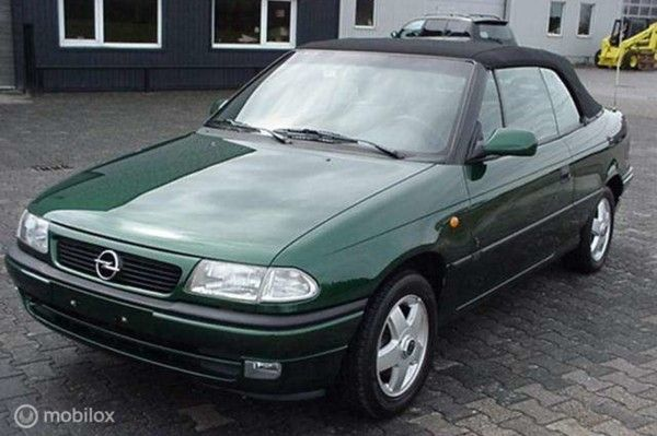 Opel Astra Cabriolet - 2.0 l. 8V LUXE , YOUNGTIMER 14200 km