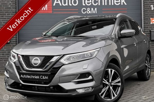 Nissan Qashqai 1.2 N-Connecta/Pano/360Camera/Cruise/Automaat