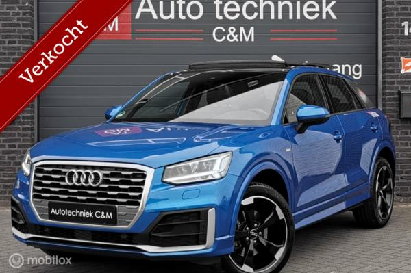 Audi Q2 1.4 TFSI 3xsline/cruise/led/panorama/virtual/camera