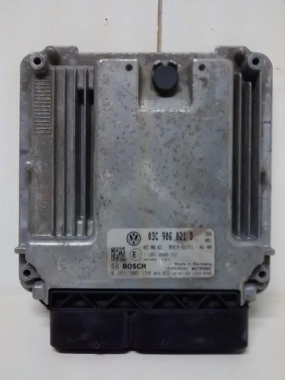 ECU VW Touran 1.4 TSI  (aardgas)  03C906021D 0261S05150