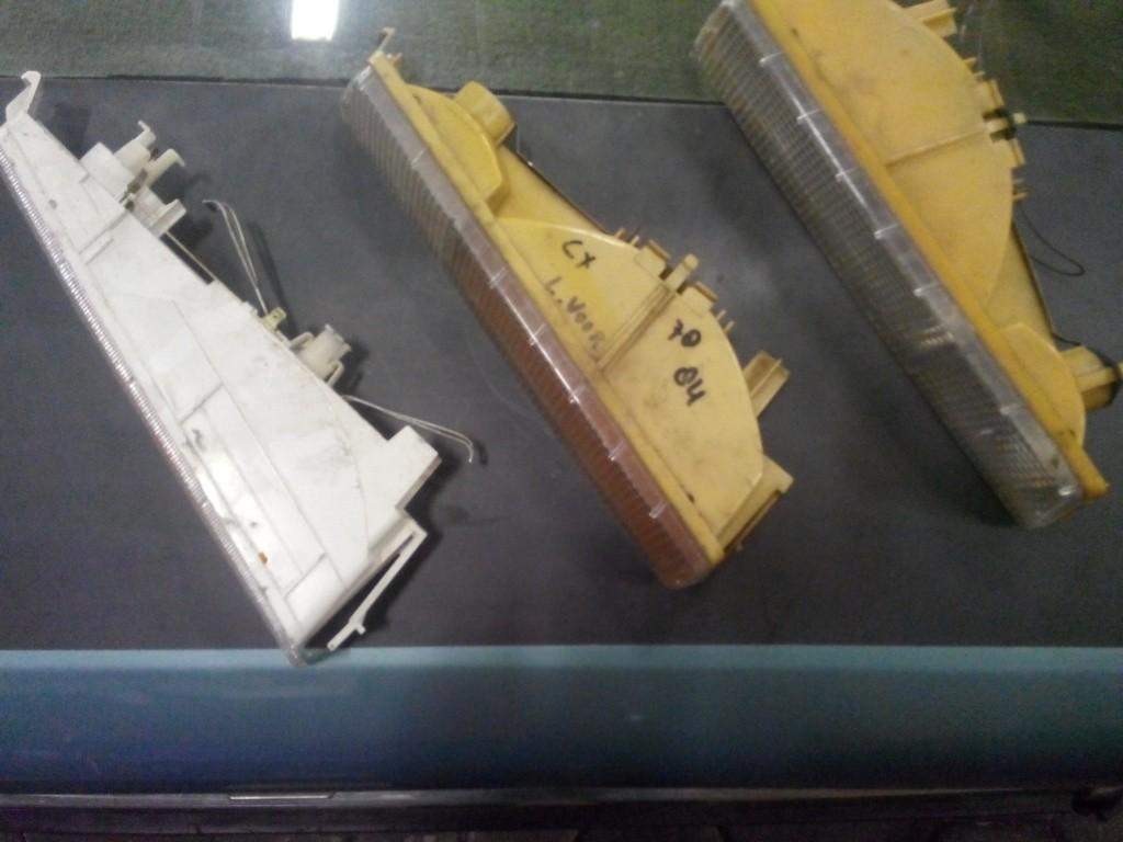Alle typen clignateurs oud type voor de CX