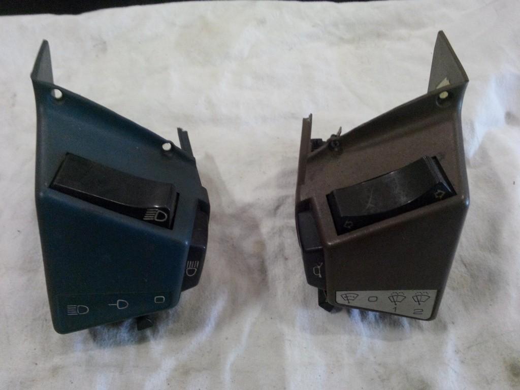 Licht/ruitenwisser schakelaars voor de oud en nieuw type CX
