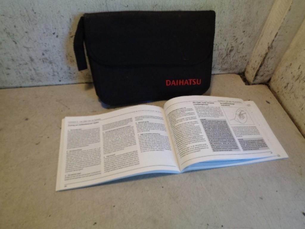 Instructieboekje Daihatsu Young RV 1.3-16V S ('00-'06)