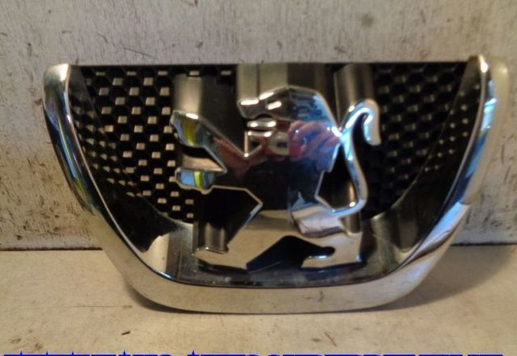Grille Blauw Peugeot 207 (WA/WC/WM) Hatchback