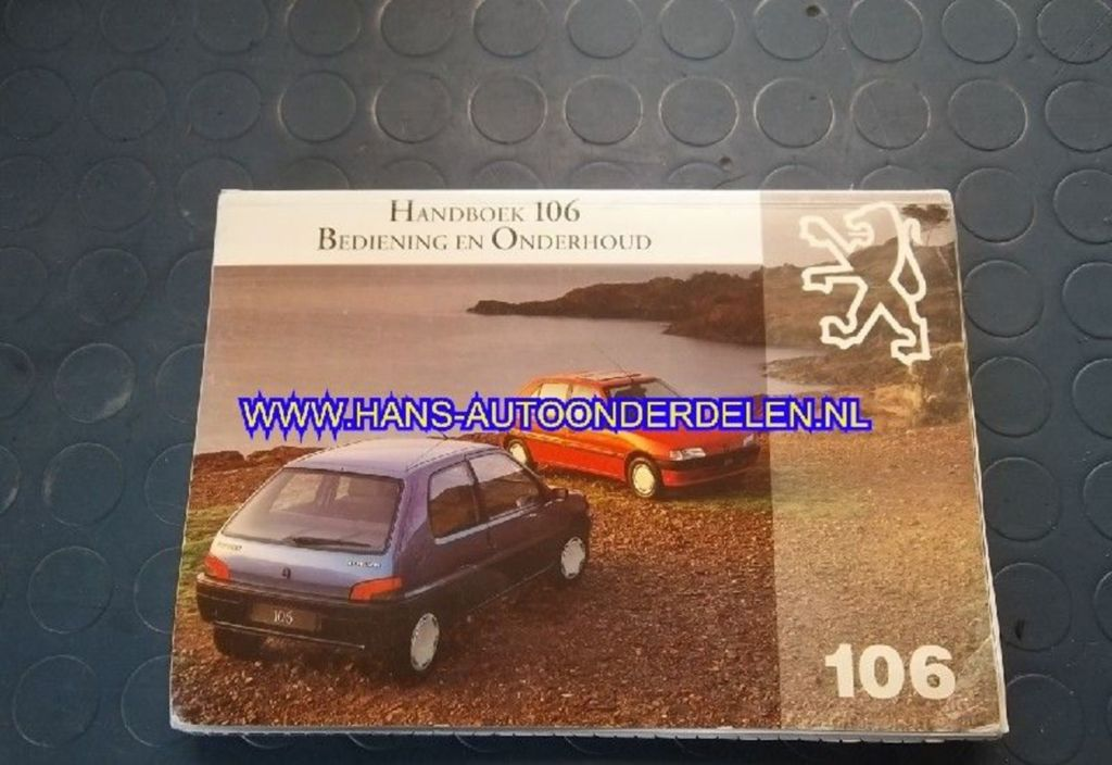 Instructieboekje  Peugeot 106 1.1 Green