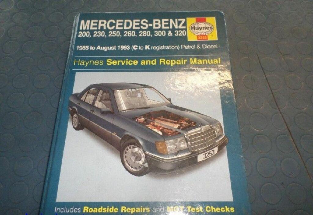 Instructieboekje  Mercedes 200-500 W124 200 D