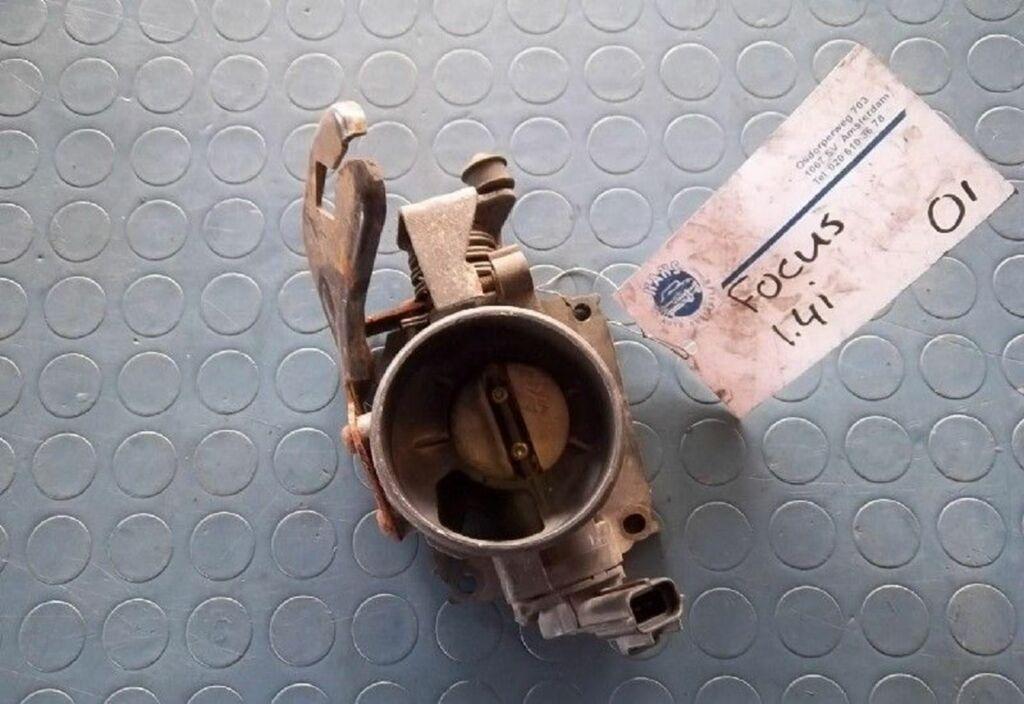 Gasklep-stelmotor