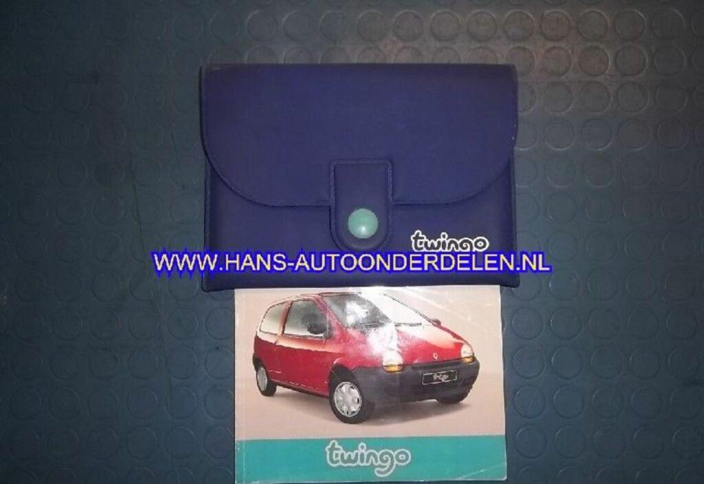 Instructieboekje  Renault Twingo I 1.2