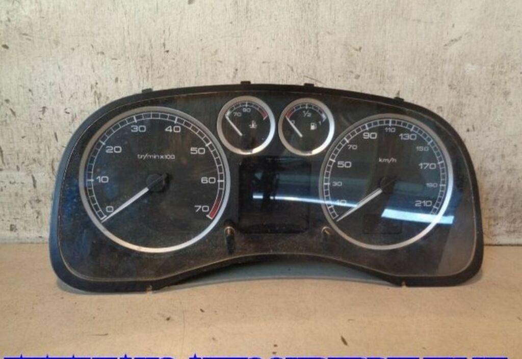Kilometerteller  Peugeot 307 Break 1.6-16V XS 9655476380
