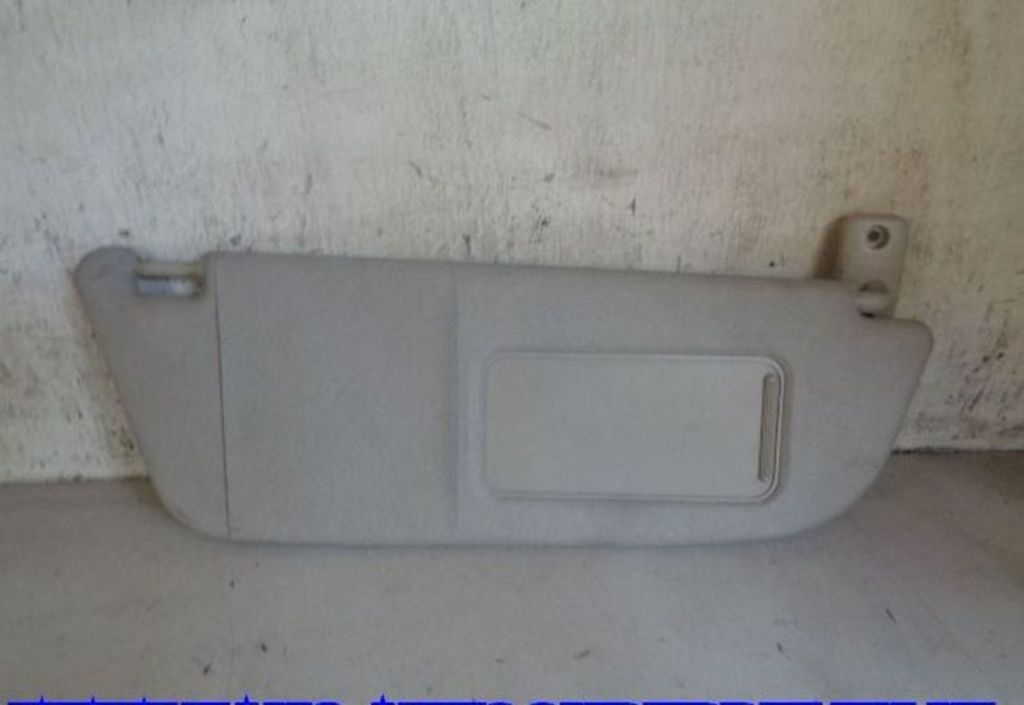 Zonneklep R Zwart Opel Corsa C 1.2-16V Comfort