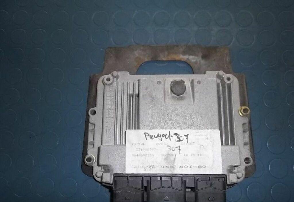 ECU-module  Peugeot 307 1.4 HDi Gentry