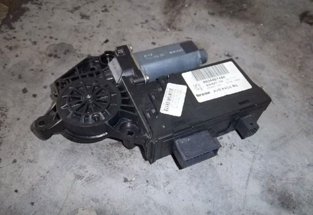 Raammotor RV Peugeot 307 1.4 HDi Gentry