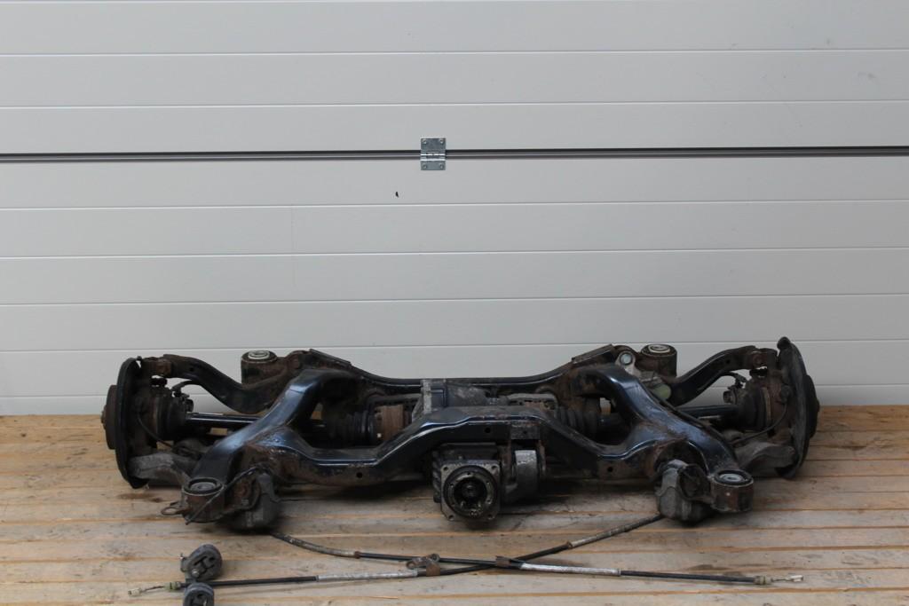 Complete Achteras Audi A4 Quattro B6 ('01-'04)