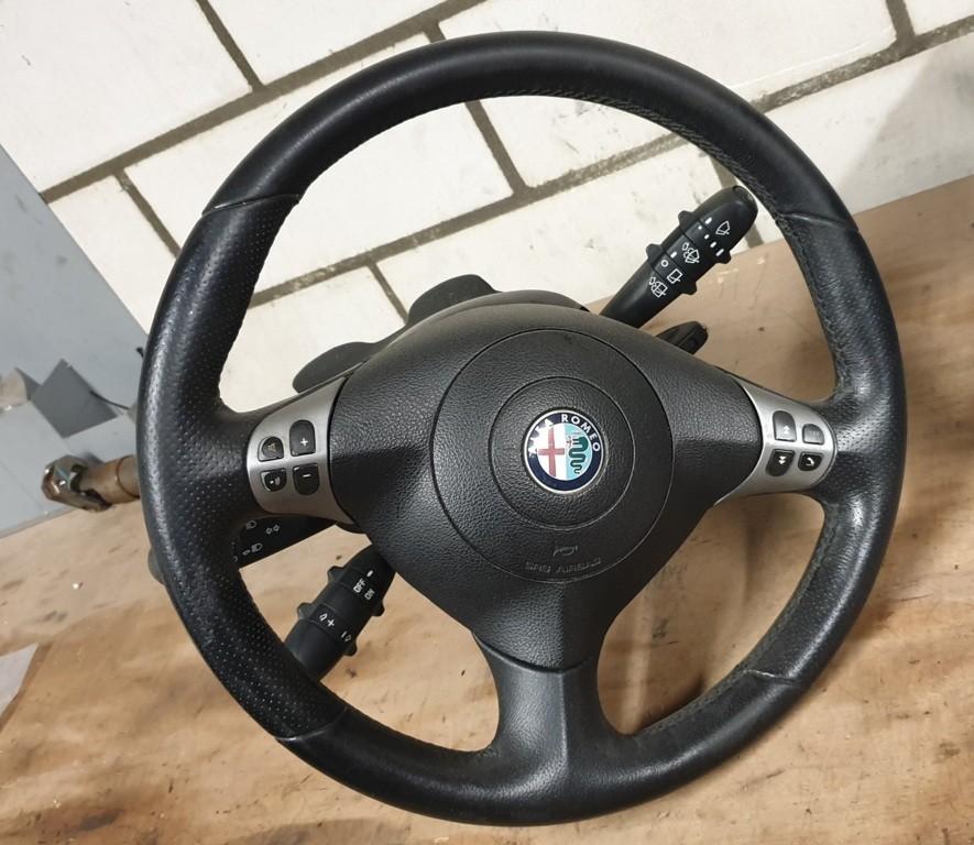 Alfa Romeo 147 Stuurhuis stuurwiel airbag compleet