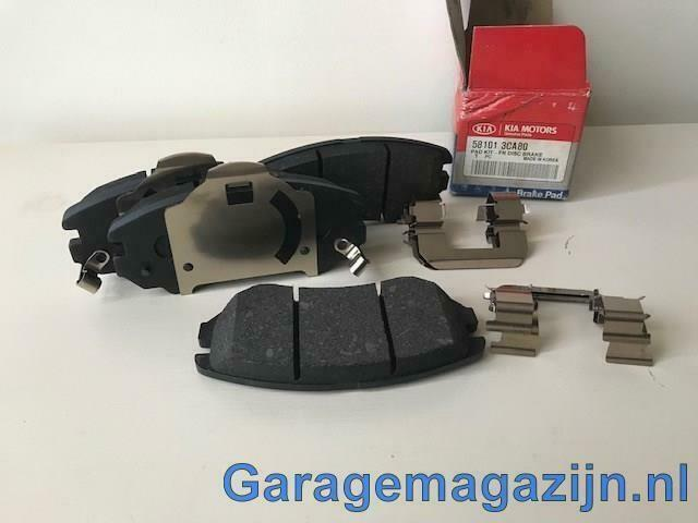 Remblokken voor 581013ca80 Hyundai Coupe / grandeur / Sonata