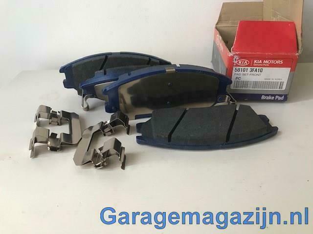 Remblokken voor 581013fa10 Hyundai Grandeur / XG350 / Kia Op