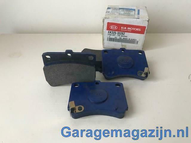 Remblokken voor Kia Pride 1.3 / Mazda 121  kk3253328z