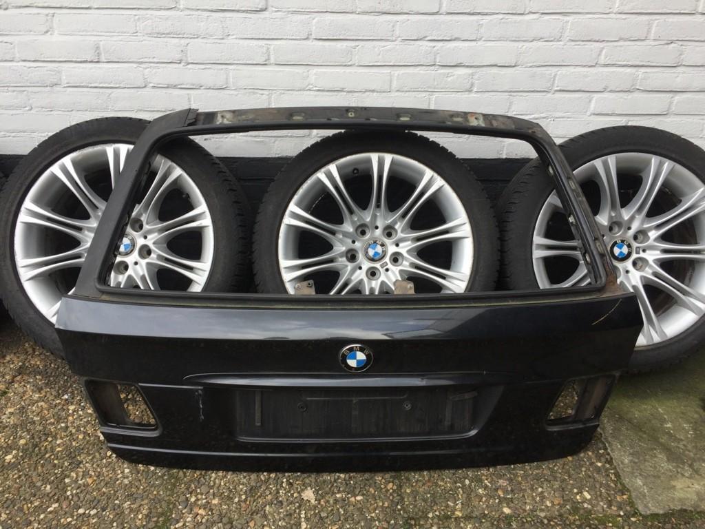 Achterklep origineel zwart cosmosmetallic BMW 3 E46 Touring