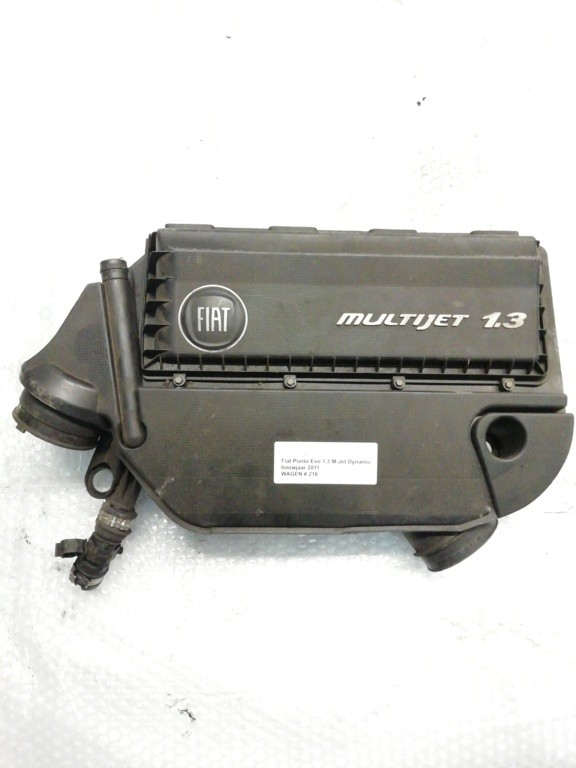 Afdekkap motorFiat Punto Evo 1.3 M-Jet Dynamic ('09->)