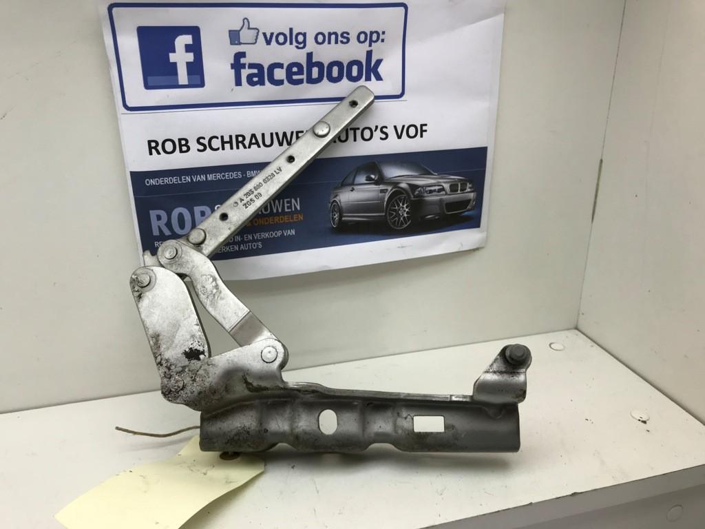 Motorkap scharnier links Mercedes C-klasse Combi S203 180