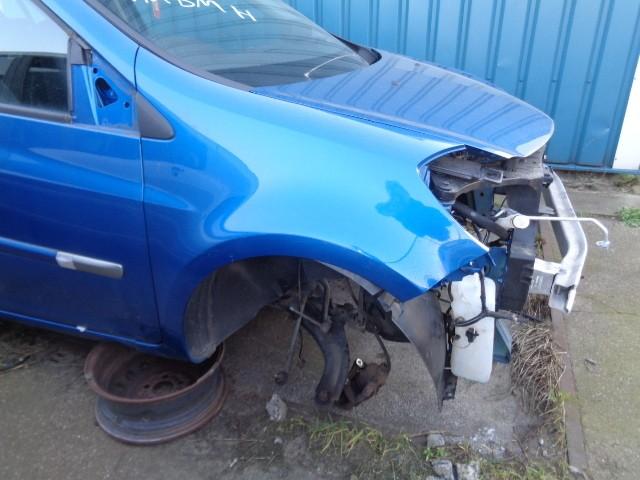Spatbord rechts blauw  terna Renault Clio ('05->) 7701476105