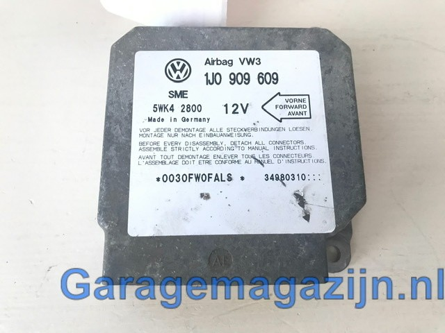 Module airbagVolkswagen Golf IV 1J0909609