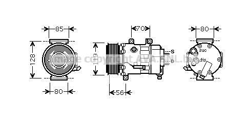 Compressor6453RV