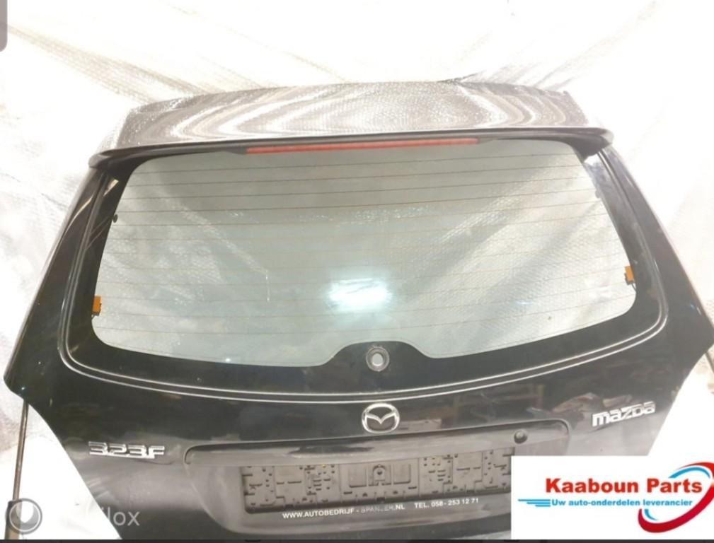 AchterklepMazda 323 ('77-'03)zwart 16w bn4 hatchback