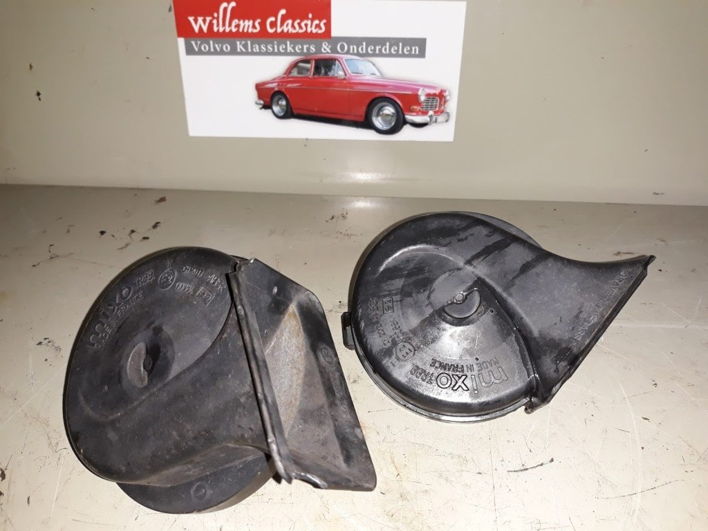 Claxon set Volvo 850 2.0 ('91-'96)9169550 9169551