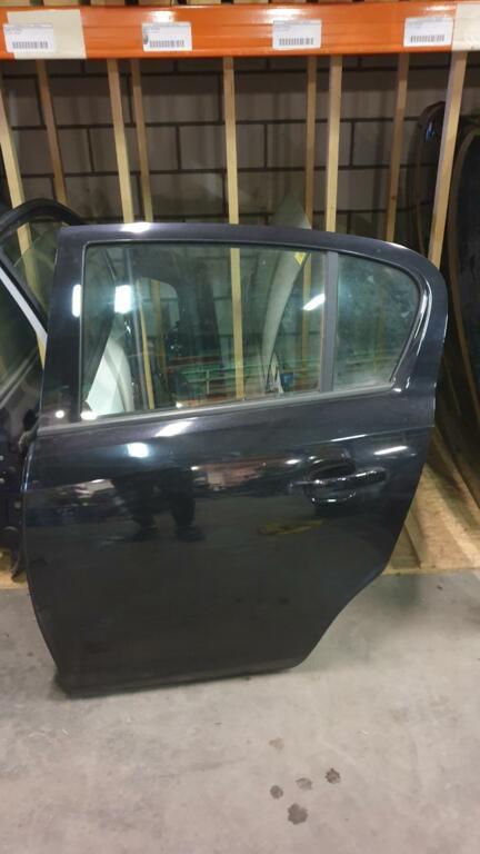 Opel Corsa DComplete portier linksachter zwart
