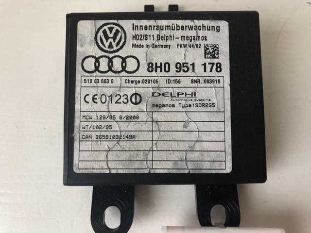 Alarmmoduledelphi 8H0951178 Audi A4 Cabrio B6 2003