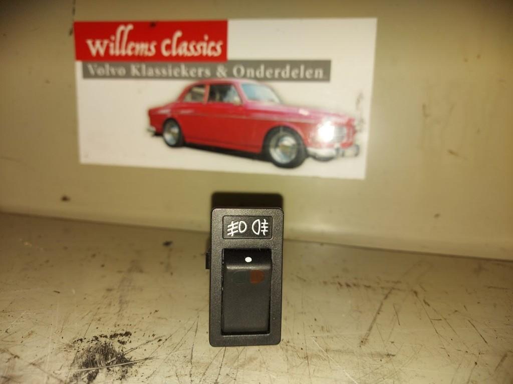 Schakelaar mistlamp zwartVolvo 960 3.0 ('90-'96)1362337