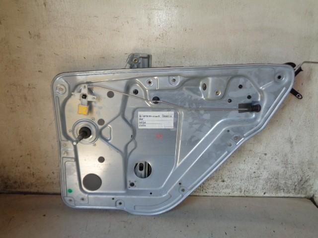 Raammechaniek rechtsachter 5-deurs mechanisch Skoda Fabia 6Y 1.9 SDI Classic ('00-'07) 6Y0839752B
