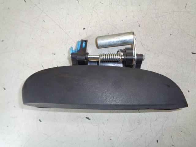 Portiergreep rechtsachter buiten zwart sleek silver Hyundai i10 I .1 Active ('08-'13) 836600X0