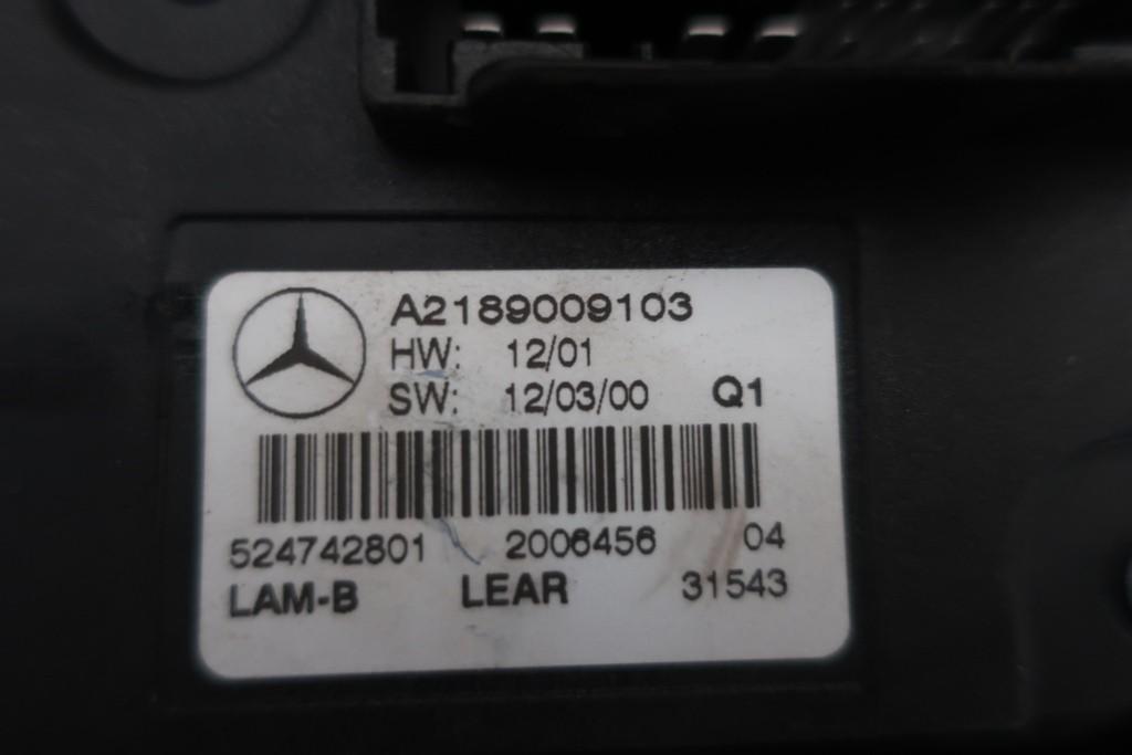 Xenon module Mercedes B-klasse W246 A2189009103