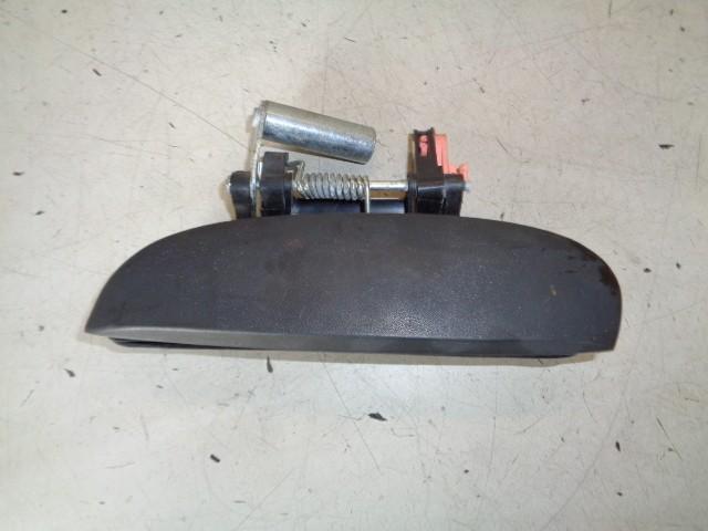 Portiergreep linksachter buiten zwart sleek silver Hyundai i10 I .1 Active ('08-'13) 836500X0
