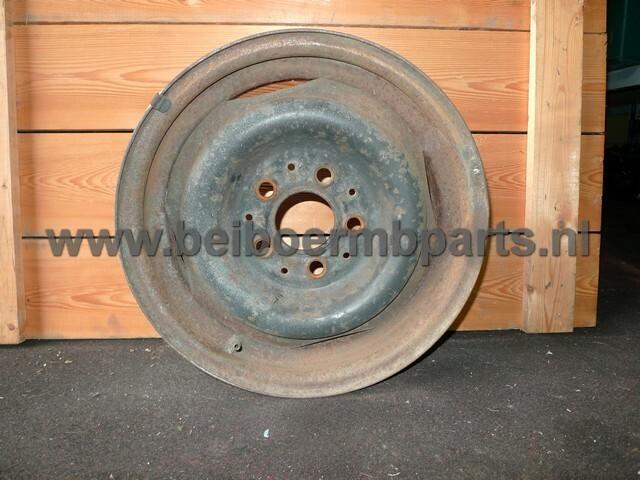 Velg staal Mercedes 123 14 inch 5,5J