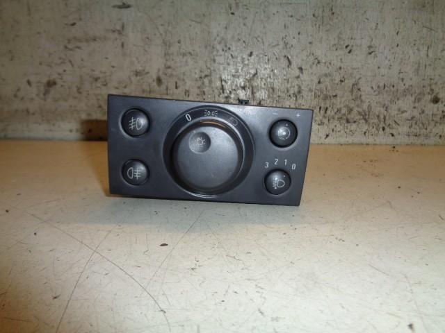 Lichtschakelaar zwart Opel Meriva A 1.4-16V Business ('03-'10) 93394755