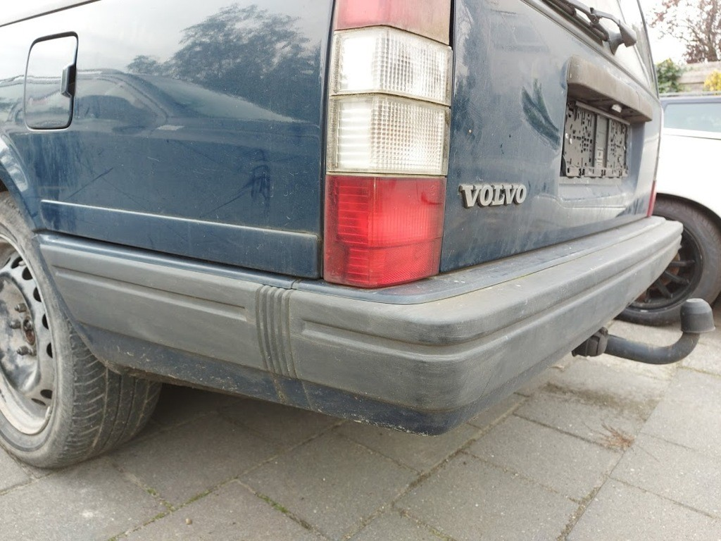 Achterbumper bumperblauw 604-23Volvo 940 ('90-'98)
