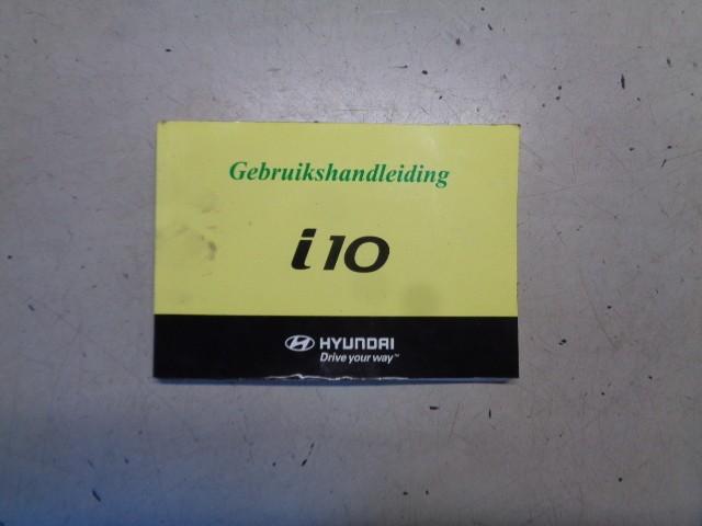 Instructieboekje Hyundai i10 I .1 Active ('08-'13)