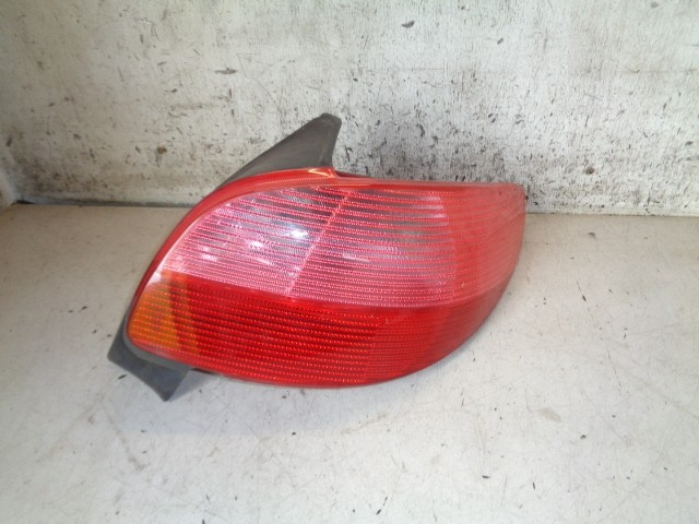 Achterlicht Peugeot 206 .1 XN ('98-'09) 6351K4