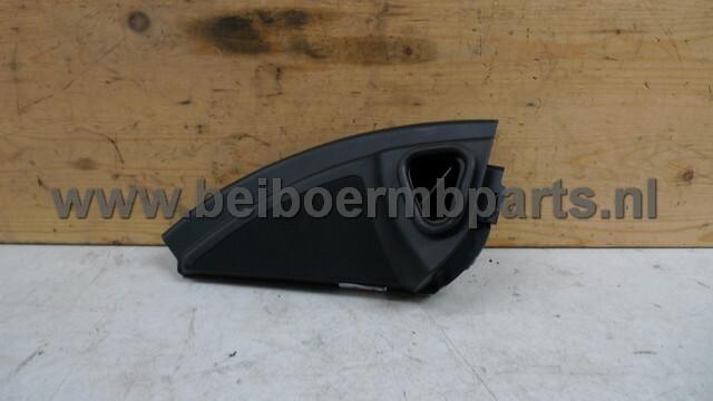 Afdekkapje luidspreker Mercedes 164 l.v. in portier zwart