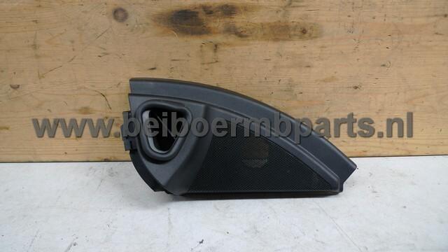 Afdekkapje luidspreker Mercedes 164 r.v. in portier zwart