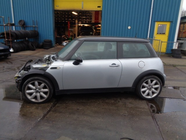 Buitenspiegel links zwart pure silver Mini R50 1.6 Cooper ('01-'06) 51167192469