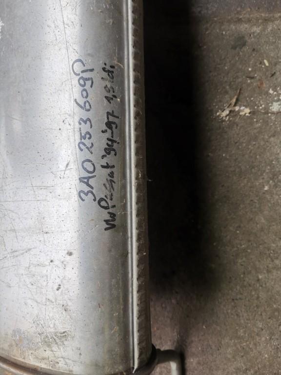 Nieuwe uitlaat achterdemperorigineelVW Passat B4 ('93-'96)