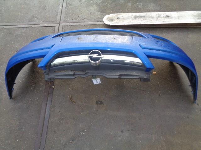 Bumper voor blauw  z21k Opel Corsa ('00-'06) 93174593