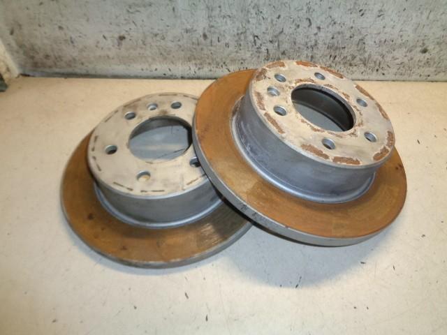 Remschijfset set linksachter rechtsachter Volkswagen Crafter Bestel I 32 2.5 TDI L3H3 2E0615301