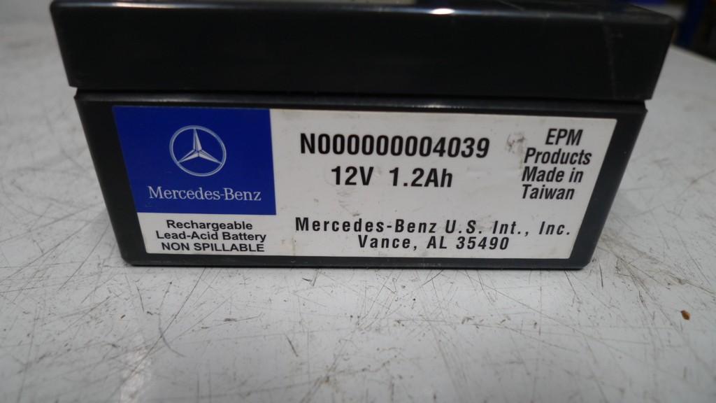Back up accu Mercedes 164 1,2AH