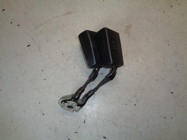 Gordelslot zwart Volkswagen Polo 6R 1.2 TDI BlueMotion Trendline ('09-'14) 6R0857739A